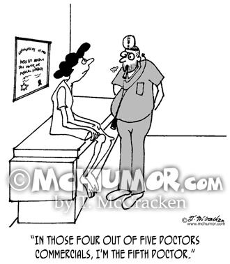 Medical Cartoon 3071