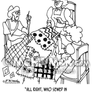 3356 Quilting Cartoon1