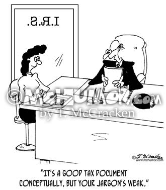 tax cartoon 4085 mchumor thekomic