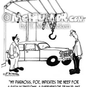 4457 Car Repair Cartoon2