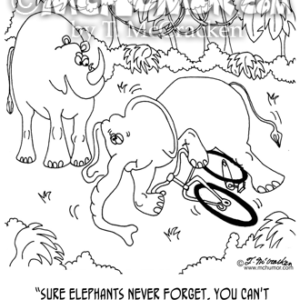 5351 Elephant Cartoon1