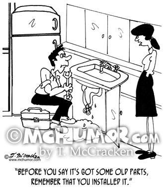 plumber cartoon 6084 mchumor thekomic