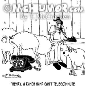 6733 Telecommuting Cartoon1