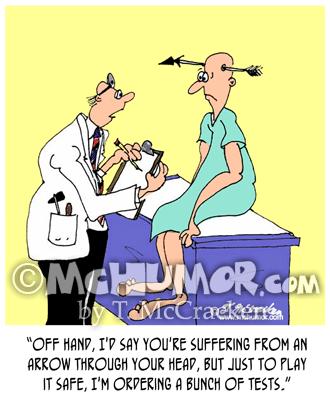 Medical Cartoon 7018