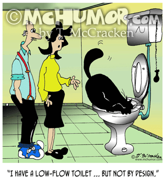 Plumbing Cartoon 7038