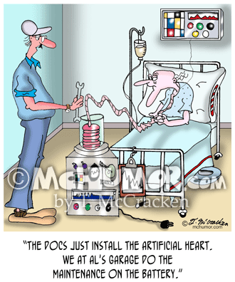 Medical Cartoon 7481