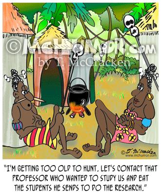 Anthropology Cartoon 7713