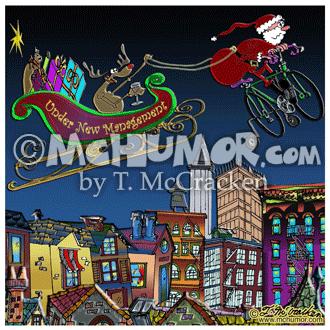 7829 Christmas Cartoon