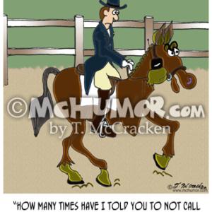 8191 Horse Cartoon1