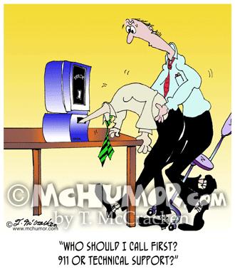 Computer Cartoon 6990