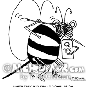 5162 Bee Cartoon