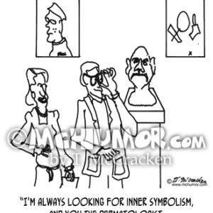 0437 Dermatology Cartoon