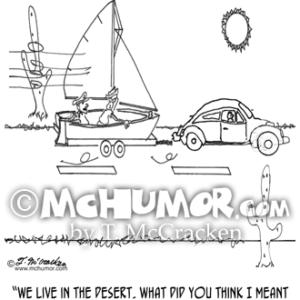 0430 Boating Cartoon