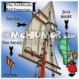 7511 Sailing Cartoon