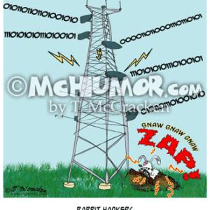 9191 Rabbit Cartoon