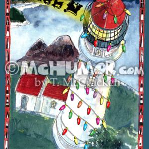 8315V Lighthouse Cartoon