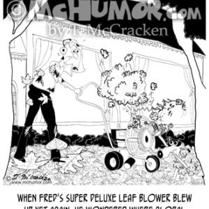 8827 Leaves Cartoon