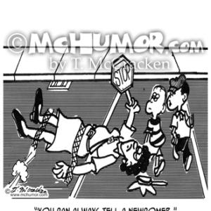 2163 Crossing Guard Cartoon