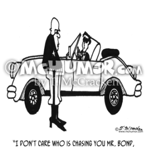 3839 Driving Cartoon