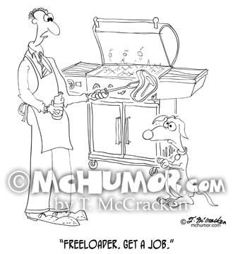 9271 Dog Cartoon