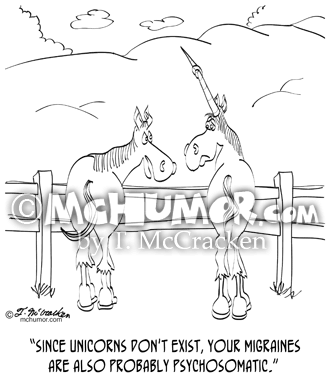 Migraine Cartoon 9280
