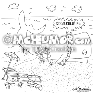 Whale Cartoon 9283