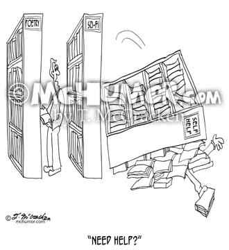 Self Help Cartoon 9299