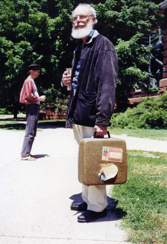 Charles McCracken's Last Day at MSU, 1999