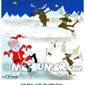 9332 Christmas Cartoon
