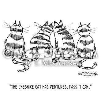 3060 Cat Cartoon