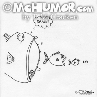 4172 Fishing Cartoon