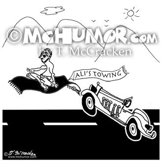 8178 Towing Cartoon