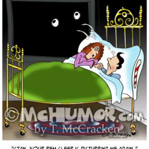 9375 Sleeping Cartoon