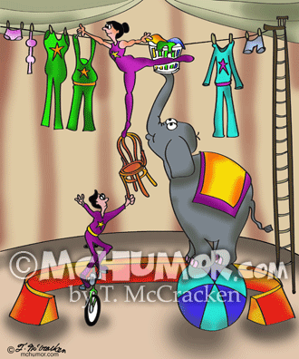 9376 Circus Cartoon