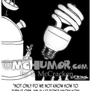 9505 Light Bulb Cartoon