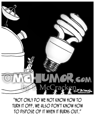 9505 Light Bulb Cartoon