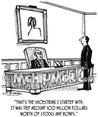 1814 Millionaire Cartoon