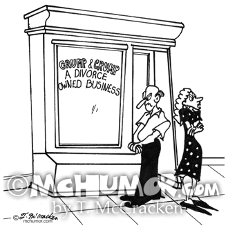 Divorce Cartoon 2458