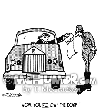 Driving Cartoon 3042