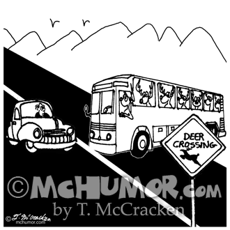Bus Cartoon 3251