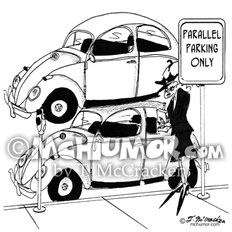 Parking Cartoon 3267