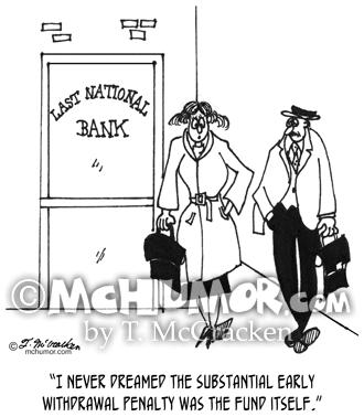 Bank Cartoon 3328