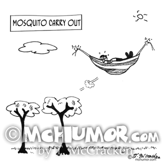 Mosquito Cartoon 3394