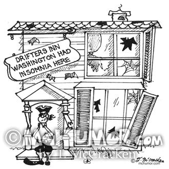 3442 Hotel Cartoon
