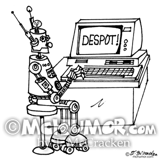 3624 Robot Cartoon