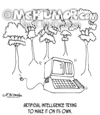 Artificial Intelligence Cartoon 3633