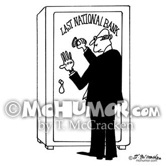 Bank Cartoon 4011