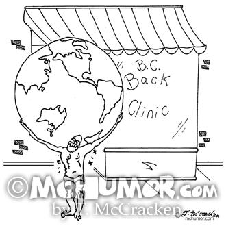 6475 Chiropractor Cartoon