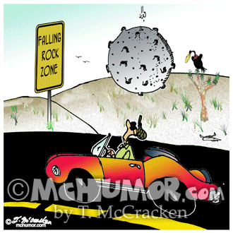 Meteor Cartoon 7970