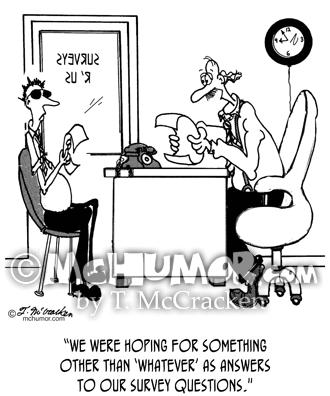 Survey Cartoon 7990